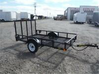 5 X 8 UTILITY TRAILER BY BIG TEX *TAX IN PRICES* 1500# GVWR