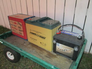 sealed agm deep cycle battery for sale