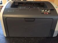 Laserjet black and white printer, HP laserjet 1010, inkjet, working