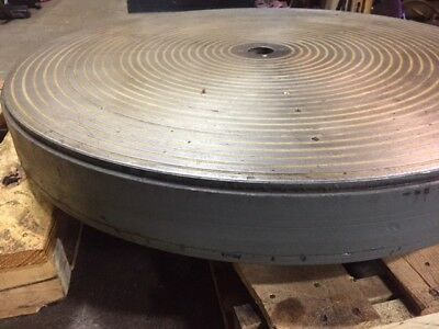 Blanchard 36 Round Magnetic Chuck With Magnetic Control For Blanchard Grinder