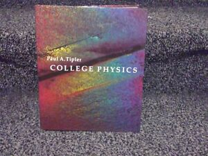 College Physics by Tipler Hardcover textbook