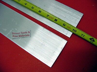 2 Pieces 14 X 3 Aluminum 6061 Flat Bar 10 Long .25 T6511 Plate Mill Stock