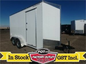 "PERFECT FOR SIDE X SIDES --> 7 x 14 -*Tandem Axle*- 85"" Interior"