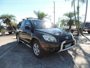2007 Toyota RAV4 ACA33R CV Black 4 Speed Automatic Wagon Caboolture Caboolture Area Preview
