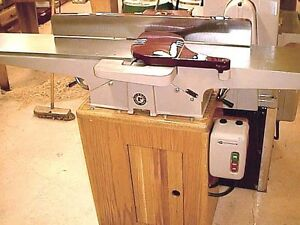 """8"""" x 66"""" LONG BED ROCKWELL JOINTER with REGROUND TABLES & KNIVES"""