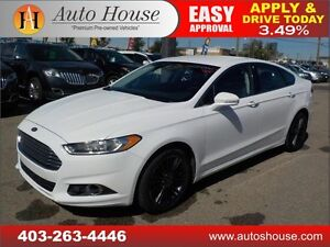 2014 FORD FUSION SE LEATHER AWD RIMS 90 DAYS NO PAYMENTS!