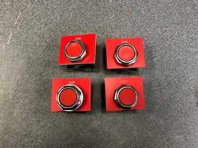 Lot Of 4 Push-button Stop Switch Sx702