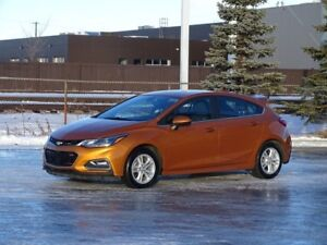2017 Chevrolet Cruze LT RS HATCHBACK Accident Free,  Heated Seat
