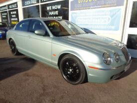 Jaguar S-TYPE 2.7D V6 auto Sat nav Low Miles P/X Swap