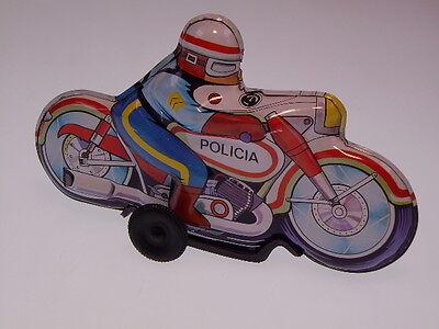 "GSMOTO  ROMAN/SPAIN  MOTO ""POLICIA"", FRICTION OK ! NEU/NEW/NEUF, 145mm ! +++"