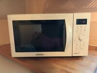 Samsung CE1071 Combi Microwave - White, Excellent Condition