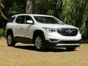 2018 Holden Acadia AC MY19 LT 2WD White 9 Speed Sports Automatic Wagon Littlehampton Mount Barker Area Preview