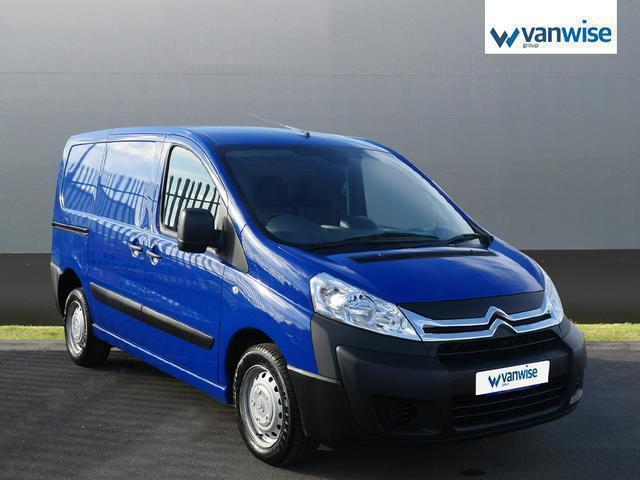2015 Citroen Dispatch 1000 1.6 HDi 90 H1 Van Enterprise Diesel blue Manual