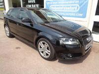 Audi A3 1.6TDI Sportback 2009 Sport F/S/H Low Miles 60k Finance Available P/X