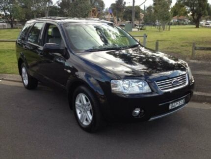 2005 Ford Territory SX Ghia (4x4) Black 4 Speed Auto Seq Sportshift Wagon Clyde Parramatta Area Preview