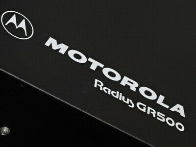 Motorola Gr500 Uhf 444-474 Mhz Repeater Radius R1225 M44grc90c2aa No Duplexer