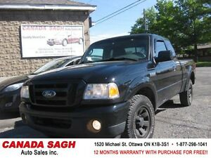 2010 Ford Ranger Sport V6 AWESOME DEAL ! 12M.WRTY+SAFETY $6990