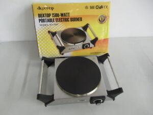 Duxtop 1500-Watt Portable Electric Burner (New)