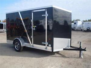 Enclosed Cargo Trailers with Screwless Exterior