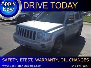 2009 Jeep Patriot Limited at www.bestrateautosales.com