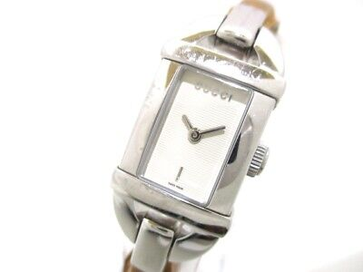 Auth GUCCI 6800L Ivory 0065966 Women