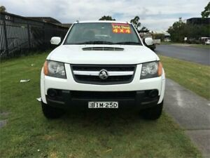 2009 Holden Colorado RC MY09 LX White Manual Utility Ingleburn Campbelltown Area Preview