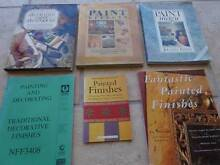 5 BOOKS ON PAINTED AND OTHER FINISHES - INTERIOR DESIGN Manly West Brisbane South East Preview