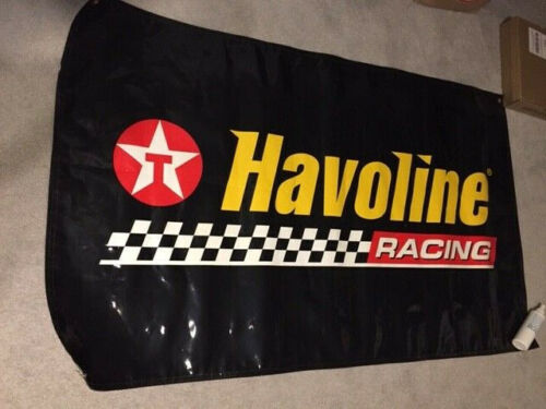 Texaco Havoline Racing oil advertising banner sign Man Cave