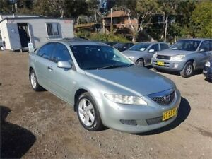 2003 Mazda 6 GG1031 Classic Silver Sports Automatic Hatchback Lansdowne Bankstown Area Preview