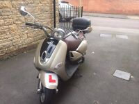 Lexmoto Verona 125 with lockable topbox and accessories for sale - Priced to Sell