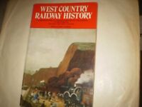 west country railway history fourth 1973 signed by david st john