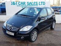 MERCEDES-BENZ A CLASS 1.5 A160 ELEGANCE SE 5d AUTO 95 BHP LOW TAX AND IN (black) 2011
