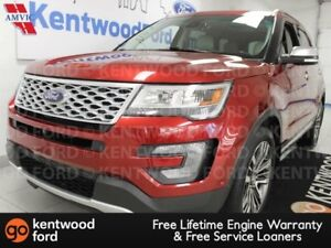2017 Ford Explorer Platinum 4WD ecoboost, NAV, sunroof, heated/c