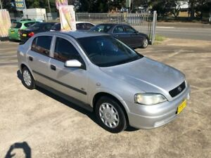 2003 Holden Astra TS City Hatchback 5dr Auto 4sp 1.8i Silver Automatic Hatchback Bass Hill Bankstown Area Preview