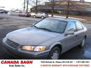 1998 Toyota Camry LE AUTO,LTHR, 12M.WRTY+SAFETY $2990
