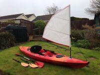 Perception Freedom, 4 mt, sit on top, fishing kayak