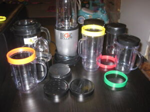 Magic Bullet and all the cups and accessories