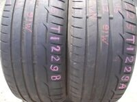 225/45/17 Dunlop SportMaxx RT x2 A Pair, 5.6mm (454 Barking Rd, Plaistow, E13 8HJ) Second Hand Tyres