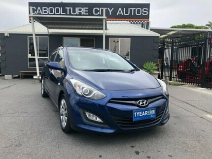 2012 Hyundai i30 GD Active Blue 6 Speed Sports Automatic Hatchback Morayfield Caboolture Area Preview