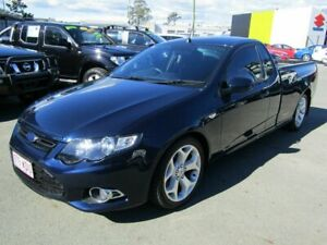 2012 Ford Falcon FG MK2 XR6T Blue 6 Speed Manual Utility Underwood Logan Area Preview