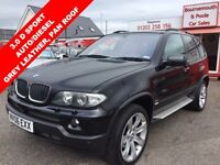 BMW X5 D SPORT AUTO/DIESEL, PANORAMIC ELECTRIC SUNROOF, F (black) 2006