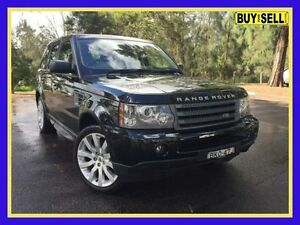 2009 Land Rover Range Rover Sport L320 10MY TDV6 Black Sports Automatic Wagon Lansvale Liverpool Area Preview