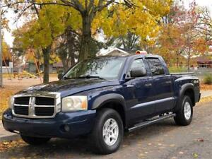 2007 DODGE DAKOTA SLT, AUTOMATIQUE, 4X4, 4 PORTES, MAGS, A/C !!!