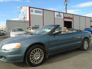 2005 Chrysler Sebring Convertible--ONE OWNER----ONLY 142,000KM