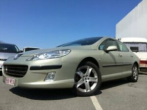 2007 Peugeot 407 ST HDi Gold 4 Speed Automatic Sedan Kingston Logan Area Preview