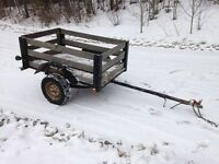 Wired farm/utility trailer, heavy duty