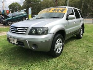 2007 Ford Escape ZC XLT Silver 4 Speed Automatic Wagon Clontarf Redcliffe Area Preview