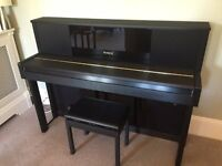 Roland LX-10 Digital Upright Grand Piano For Sale – Superb Condition.