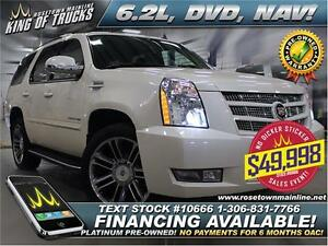 2013 Cadillac Escalade Luxury 6.2L | DVD | Nav