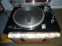 Sansui SR-222 Mk2 record turntable and Ortofon VMS20e Stylus